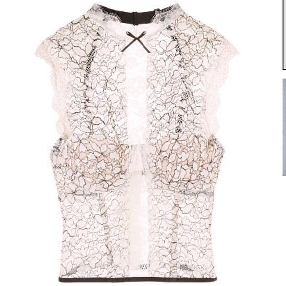 ea83023983 Dream Angel Chantilly lace bustier 34C. NWT. Victoria s Secret